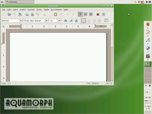 aquamorph v0.4rc1 screenshot